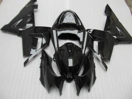 $enCountryForm.capitalKeyWord Canada - Motorcycle plastic fairing kit for Kawasaki ninja ZX10R 2004 2005 glossy black fairings set ZX10R 04 05 IT52