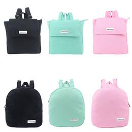 $enCountryForm.capitalKeyWord Canada - Wholesale- Japanese Style Women Backpack Canvas Solid School Bag School Backpacks for Teenage Girls BS88