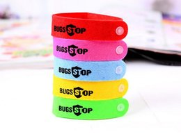 personal protection 2019 - Mosquito Repellent Bracelet Anti-mosquito Hand Insect Repellent Ring Colorful Personal Protection Bugs Lock New Simple P