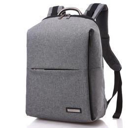 Unique Computers UK - Fashion Unique Man Backpack School Backbag Square Men Backpack 14 inch Women Laptop Bag Computer