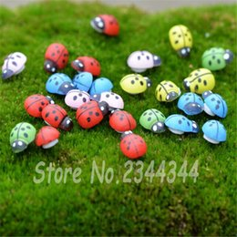$enCountryForm.capitalKeyWord Canada - Wholesale-Hot Sale 20pcs Pack Colorful Wooden Ladybird  Sticker Kids Painted Adhesive Back DIY Craft Home Party Holiday Decoration