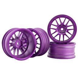 Purple Wheels Canada - RC Aluminum Wheel 4pc D:52mm W:26mm Fit HSP 1:10 On-Road Drift Car Rim 9062ALP