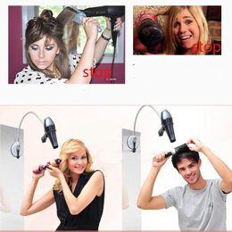 $enCountryForm.capitalKeyWord Canada - DHL Hair Dryer Stands hair dryer Holder Hair Dryer Holder Organizer Rack Comb Storage Wall Mount Stand Bathroom Chrome