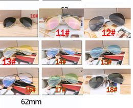 Discount pc free - summer men fashion pink dazzling metal Sunglasses ladies driving goggle reflective sunglasses cycling glasses 18colors f