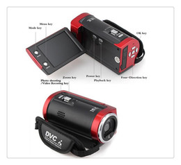 Tft Lcd Cmos Australia - Portable Video Camera 720P HD 16MP 16x Zoom 2.7'' TFT LCD Digital Video Camcorder Camera DV DVR Black Red hot worldwide