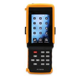 Cctv Wifi Ip Australia - 4.3 Inch 5-in-1 Touchscreen Network Monitoring Tester CCTV Tester for IP AHD CVI TVI Analog Cameras Built-in Wireless WIFI IPC-9300ADH