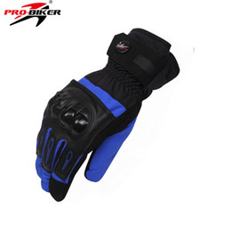 $enCountryForm.capitalKeyWord NZ - Wholesale- PRO-BIKER Winter Motorcycle Protective Gears Skiing Gloves Windproof Snowboard Motorcycle Gloves Motos Luva Guantes Gloves