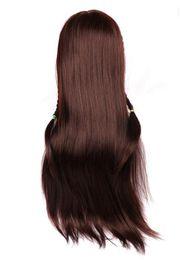 $enCountryForm.capitalKeyWord Canada - Mannequin Head Training Female Model Head With Hair Maroon Color annequins Human Heads Training Female Wig Dummy Head