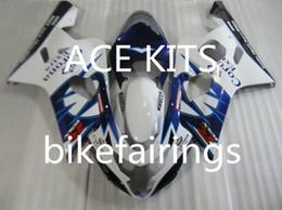 $enCountryForm.capitalKeyWord Australia - New ABS motorcycle Fairing Kits 100% Fit For Suzuki GSXR600 GSXR750 2004 2005 600 750 04 05 K4 bodywork set hot buy Blue and White WQ6