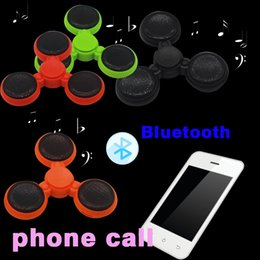 $enCountryForm.capitalKeyWord Australia - Newest Version LED bluetooth Phone Calls Function audio Music Hand Spinner Fidget Spinner Plastic Toy For Decompression