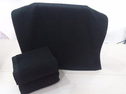 $enCountryForm.capitalKeyWord UK - Super Soft Luxury 100% Cotton Solid Black Bath Towel Set Face Hotel