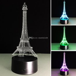 $enCountryForm.capitalKeyWord NZ - 7 Color Change 3D Acrylic illusion Touch Switch Lamp LED Night Light Novelty E00654 SPDH