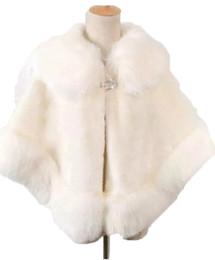 China 2017 Promotional Sexy Faux Fur Coat Bridal Wraps Warm Wedding Shawl Jackets Bolero For Wedding Dresses Wedding Jackets Ivory Black Red suppliers