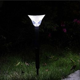 wholesale solar power path lights led garden stake light lawn spot lamp for outdoor landscape