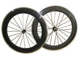 Alloy clincher rims online shopping - New C mm clincher rim Road bike mm Width K carbon bicycle wheelset with alloy brake surface carbon wheels
