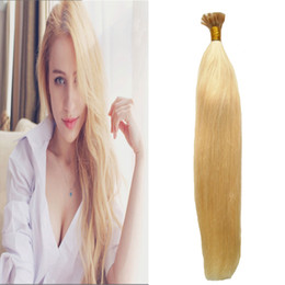 $enCountryForm.capitalKeyWord NZ - #613 Bleach Blonde hair products human hair 100g u tip hair extension keratine 100s 4B 4C