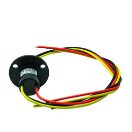 Wholesale parts arms online – design Capsule Slip Ring for Automatic Arm Slip Rings Channel A Large Current Compact Slip ring Out Dia mm