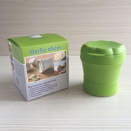 $enCountryForm.capitalKeyWord Canada - Practical Home Kitchen Tool Kit Garlic Press Chopper Slicer Hand Presser Garlic Grinder Box Independent Packing (2 Colors)