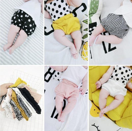 Tout-petits En Été Pas Cher-Ins Baby Shorts Toddler PP Pantalons Boys Casual Triangle Pants Girls Summer Bloomers Infant Bloomer Briefs Coton Coton Caleçon KKA2139