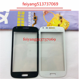 Samsung Duos Touch Screen NZ - A quality For Samsung Galaxy Core Duos i8262 i8262D i8260 Touch Screen panel Digitizer Front Glass replacement blue white