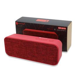 $enCountryForm.capitalKeyWord Australia - NR-2016 Dual Bluetooth Speaker 10W High Power, Motherboard With Boost Fabric Bluetooth Speaker Portable Handheld Card Mini Speaker