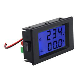 $enCountryForm.capitalKeyWord Australia - Professional Dual Display Digital AC Volt Amperemeter Voltage Panel Meter+Current Sense Resistors 100A 300V 110V 220V