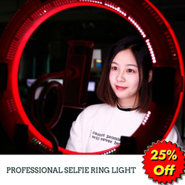 Discount video ring - Selfie Ring Light Outer 19.5in Falconeyes DVR-512DVC Camera LED Video Light Photography Lighting Studio Outdoor Lamp Adj