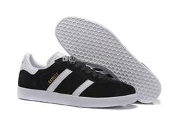 De calidad superior 2017 hombres mujeres Casual Gamuza de gamuza negro gris rojo amarillo ligero senderismo zapatos 36-45
