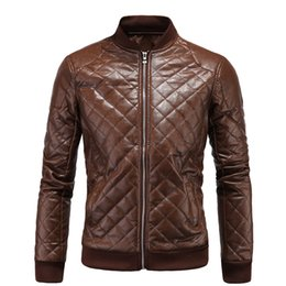 $enCountryForm.capitalKeyWord Canada - Winter Men Warm Jacket PU Waterproof Outdoor Leather Jacket Stand Collar Wild Faux Jacket For Men Plus Size Men Jackets J161113