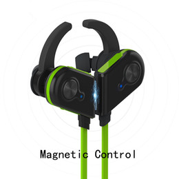 $enCountryForm.capitalKeyWord NZ - Wholesale Magnetic control S20 bluetooth earphone for iphone Running sports earbuds good bass comfortable wear noise reduction long standby