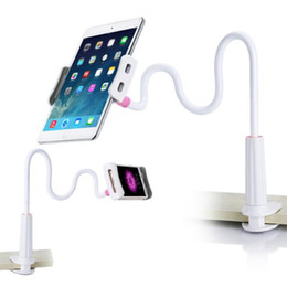 lazy arm phone holder 2018 - Universal Mobile Phone Holder 80cm Long Arm Lazy holder Bed Desktop holder for ipad Mobile Tablet PC Stand Extendable mo