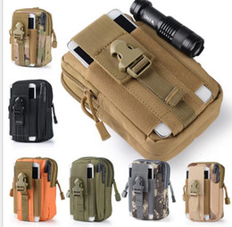 $enCountryForm.capitalKeyWord NZ - Outdoor Sport Casual Tactical Belt Loops Waist Bag Moile Waist Pack Smartphone Mobile Phone Case Hiking Pouch Waist backpacks