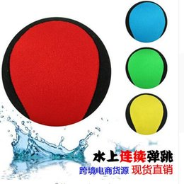 $enCountryForm.capitalKeyWord UK - 20pcs 5.5cm Water Bouncing Ball toy no logo Funny Swim Water Jumper ball kids gift