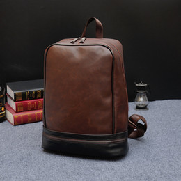 Discount Leather Laptop Backpacks For Men | 2017 Leather Laptop ...