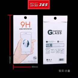 Box Brand Glasses NZ - New Arrival Accept Customized LOGO Package Paper Packaging Box For Mobile Phone Tempered Glass Screen Protector