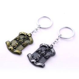 $enCountryForm.capitalKeyWord Canada - GNR Guns N' Roses Keychain Keyring American Rock Band Key Chain Movie Jewelry Gift 2 Colors