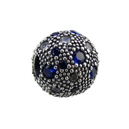 flowers free UK - 2017 summer silver bead Fits for pandora bracelets 925 sterling silver clip beads with purple CZ wholesale diy fashion ball jewelry free