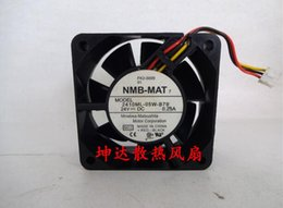 Discount 6cm inverter fan - Original NMB 2410ML-05W-B79 6025 6CM 0.25A 3 line stop alarm inverter fan