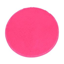 wholesale design and high quality material soft bath bedroom floor shower round mat rug nonslip wholesale