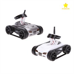 military cameras 2019 - 2017 High Quality RC Mini Tank Car HD Camera Video Car Toy Wifi Wireless Camera Realtime Remote Control Toys With Packag