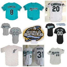 2bdf1e2f6 ... womens fashion stitched mlb jersey 0c592 e7ab0  new zealand florida  marlins 2003 world series jerseys 20 miguel cabrera 35 dontrelle willis 2  hanley