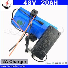 $enCountryForm.capitalKeyWord Canada - 48V 1000W ELectric Bicycle Battery 48V 20Ah Lithium Battery For Bafang Motor With 2A Charger eBike Battery 48V Free Shipping