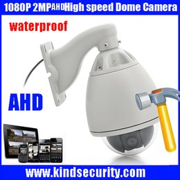 Pan Tilt Camera Wired NZ - IP 66 1080P AHD PTZ High Speed camera 1080P Policecar AHD Vehicle CAR high speed AHD PTZ camera