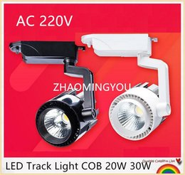 $enCountryForm.capitalKeyWord NZ - YON 10PCS LED Track Light COB 20W 30W LED Ceiling Rail Lights spotlight For Kitchen Fixed Clothing Shoes Shops Stores Track Lighting