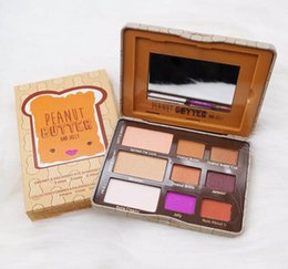 Chinese  Hot New Peanut Butter Eyeshadow Chocolate Chip Palette And Jelly Eye Shadow palette 9 color eyeshadow free shipping manufacturers