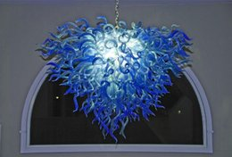 $enCountryForm.capitalKeyWord Australia - Modern Glass Chandelier Elegant Heart Designer Lighting Type Contemporary Bulbs Murano Glass Industrial LED Pendant Lighting