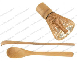 $enCountryForm.capitalKeyWord NZ - New Matcha Set Chasen Tea Whisk + Chashaku Bamboo Scoop + Tea Spoon 1 Set Tool MYY