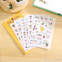 $enCountryForm.capitalKeyWord Australia - 6sheets pack Creative Cute Happy Girl DIY Photo Album Diary Stickers Cartoon Planner Stickers Scrapbooking Decoration Stickers