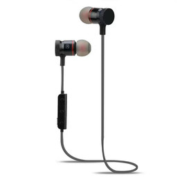 Magnets Iphone Canada - M90 M9 Magnet Wireless Bluetooth Earphones Headset Stereo Music Headphones Sport Running Magnetic Earphones For iphone 7 Samsung lg mobile