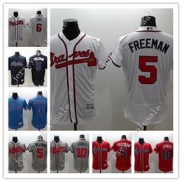 419d42259 ... MLB Jersey Sale Barato Cheap Mens Elite Atlanta Braves 3 Dale Murphy 5  Freddie Freeman 6 Bobby Cox 24 Evan ...